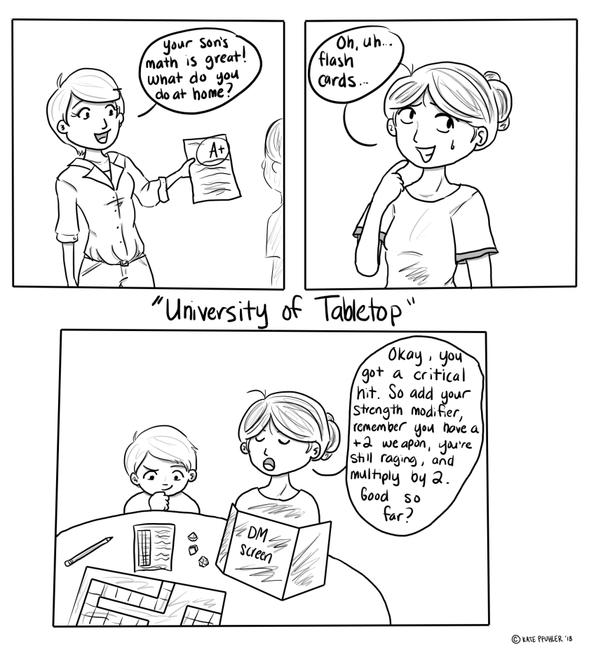 University of Tabletop