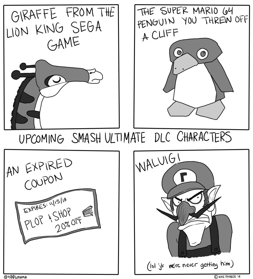 Smash characters